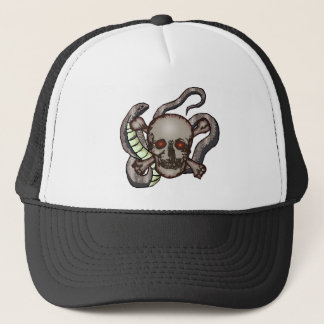 Boné Crânio e chapéu dos cobras