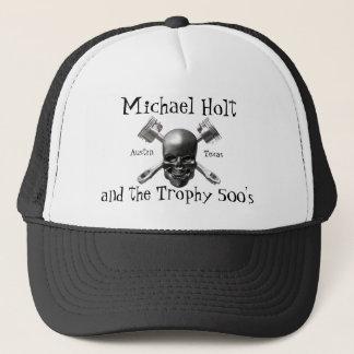 Boné Crânio e chapéu dos pistões