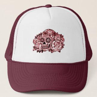 Boné Crânio e rosas