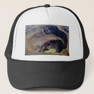 Boné cratera vulcânica profunda