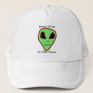 Boné Crente do chapéu dos aliens