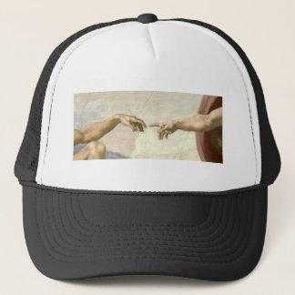 Boné Criação das mãos de Adam - Michelangelo