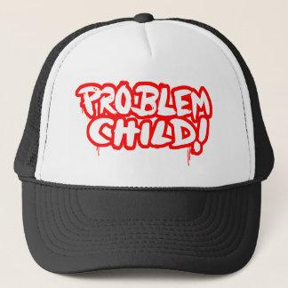 Boné Criança do problema!