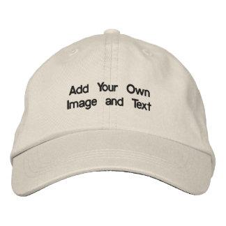 Boné Criar seu próprio chapéu bordado