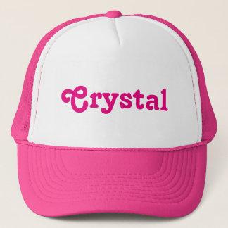 Boné Cristal do chapéu