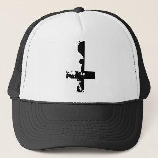 Boné Cruz satânica
