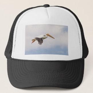 Boné Cruzamento americano do pelicano branco