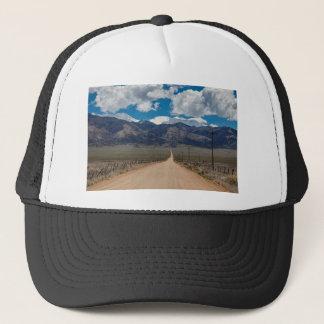 Boné Cruzamento da estrada da parte traseira do vale do