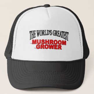 Boné Cultivador do cogumelo do mundo o grande