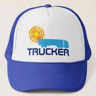 Boné Customizável bonito um--um-amável do camionista