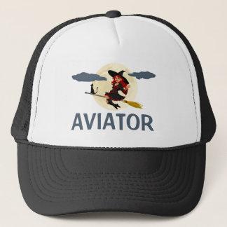 Boné Customizável engraçado do aviador