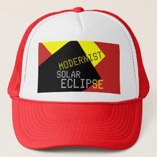 Boné Customizável engraçado modernista do eclipse solar