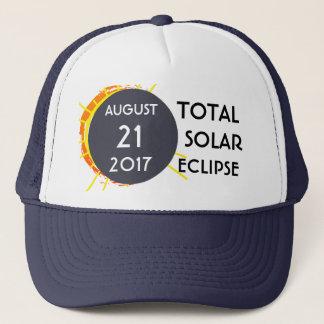 Boné Customizável um--um-amável total do eclipse solar