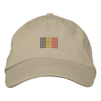 Boné da bandeira de Bélgica - chapéu belga da