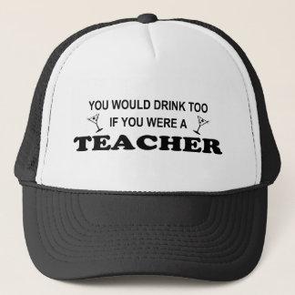 Boné Da bebida professor demasiado -