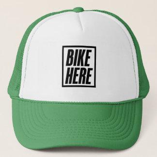 Boné Da bicicleta chapéu do camionista aqui