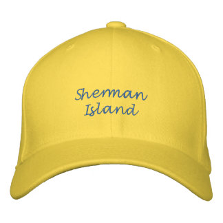 Boné da bola da ilha de Sherman