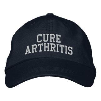 "Boné Da ""chapéu bordado da artrite cura"" -"