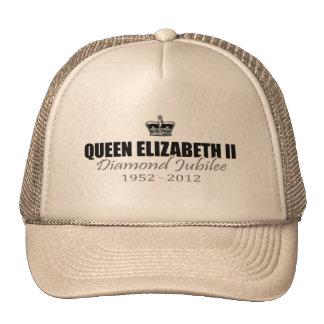 Boné da lembrança do jubileu de diamante da rainha