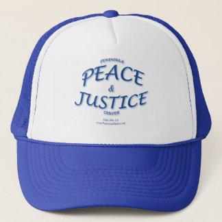 Boné da paz e da justiça