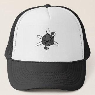Boné Dado-Átomo (esboce tudo preto) (dentro de todas as