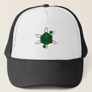 Boné Dado-Átomo (preto, verde)