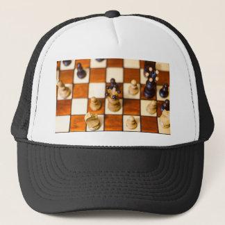 Boné Dama do mit de Schachbrett im Vordergrund