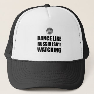 Boné Dança como Rússia que não olha