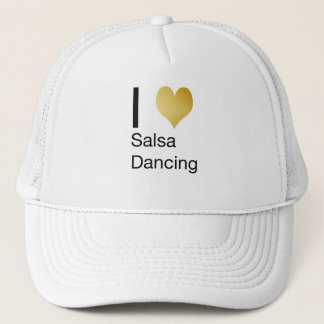 Boné Dança Playfully elegante da salsa do coração de I