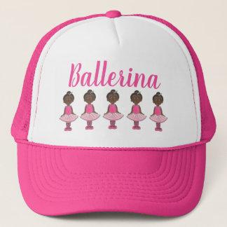 Boné Dançarino de balé cor-de-rosa do considerando da