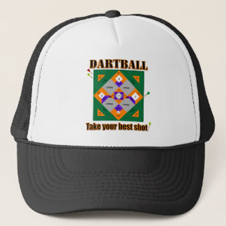 Boné Dartball toma seu melhor tiro!