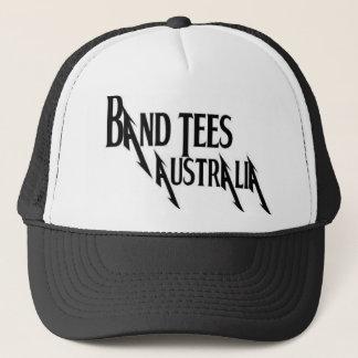 Boné de Austrália das camisetas da banda