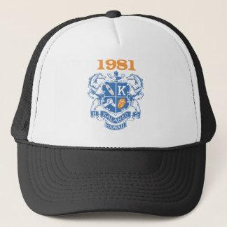 Boné de beisebol 1981 da reunião de Kalaheo