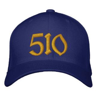 Boné de beisebol 510 - azul e ouro