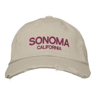 Boné de beisebol afligido Califórnia de Sonoma