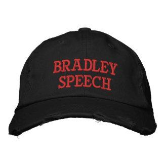 Boné de beisebol afligido discurso de Bradley