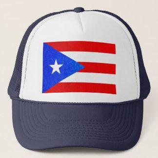 Boné de beisebol da bandeira de Puerto Rico