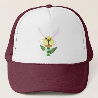 Boné de beisebol da flor do coelho