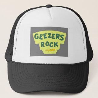 Boné de beisebol da rocha dos Geezers