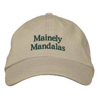 Boné de beisebol das mandalas de Mainely