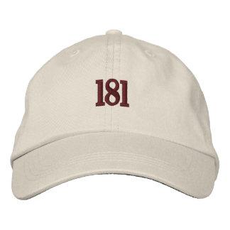 Boné de beisebol de 181 Washington Heights