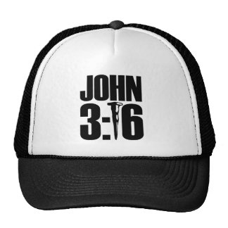 Boné de beisebol do 3:16 de John
