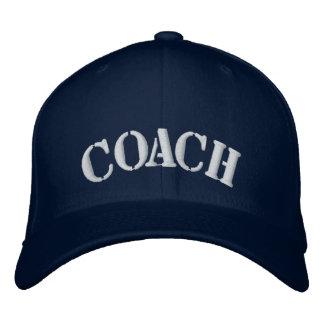 Boné de beisebol do costume do treinador