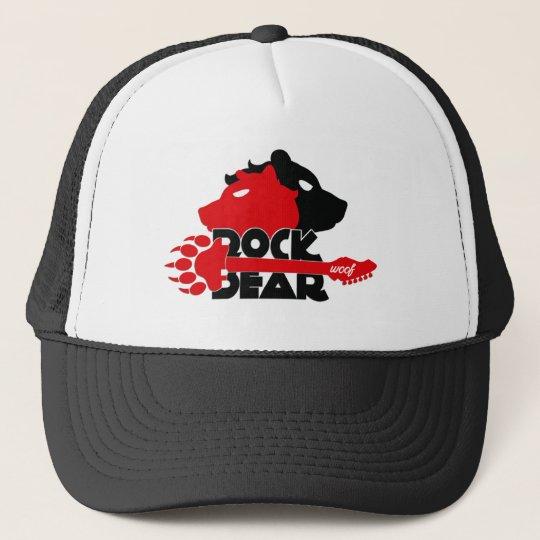 Boné de Caminhoneiro Rock Bear Woof