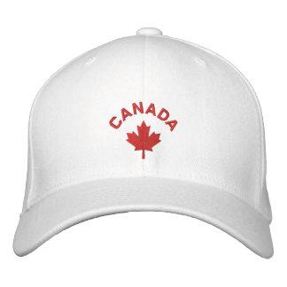 Boné de Canadá - chapéu vermelho da folha de bordo