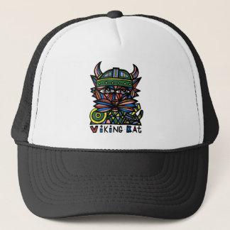 "Boné De ""chapéu do camionista Viking Kat"""