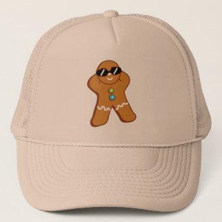 """Boné De """"chapéu Khaki do camionista da espuma do homem"""