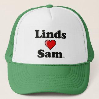 """Boné De """"chapéu Linds (coração) Sam"""""""