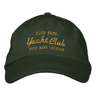Boné de Personalizable do yacht club