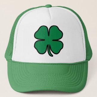 Boné De St Patrick verde do irlandês do trevo chapéu do